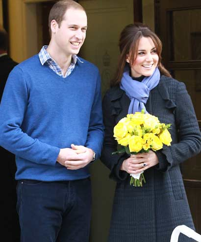 Prince William and Kate Middleton