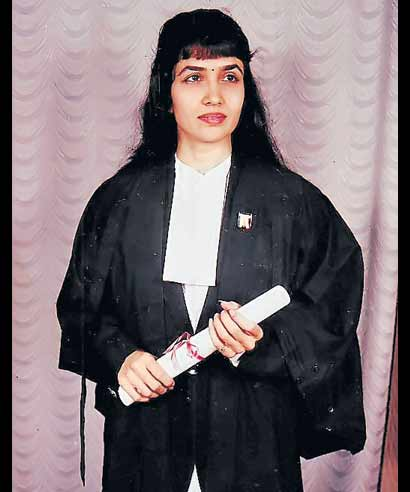 An advocate, Mina Raval, 42, has nominated Narendra Modi as her legal heir in the bank form.