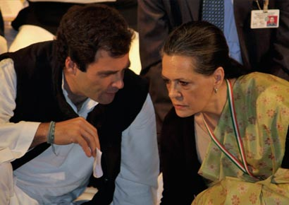 Rahul Gandhi speaks to mother and Congress chief Sonia Gandhi