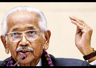 Former chief justice of India JS Verma