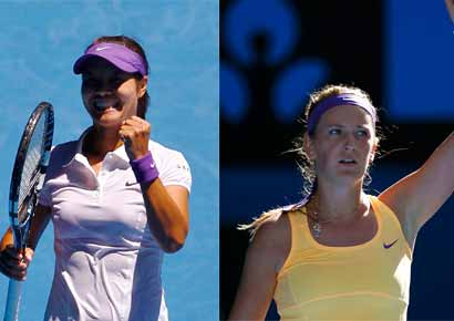 Li Na vs Victoria Azarenka