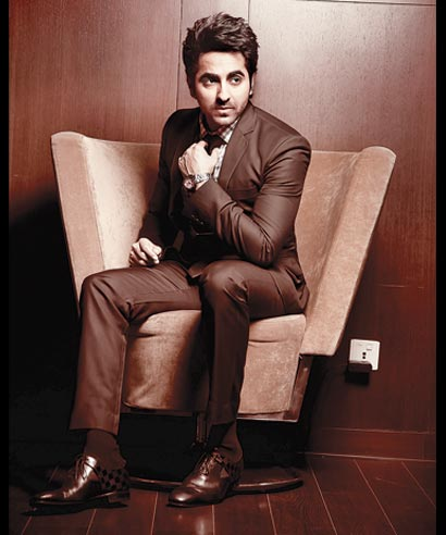 Actor Ayushmann Khurrana.