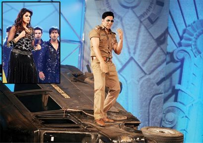 Akshay Kumar in action.