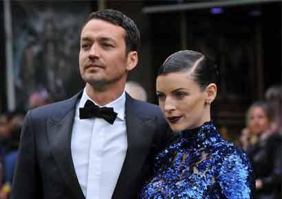 Liberty Ross with Rupert Sanders