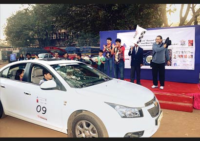 Last year the rally was flagged off by adman Prahlad Kakkar. This year actor-director Mahesh Manjrekar will do the honours.