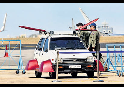 AK Vishwanath is working on a flying car which can take off vertically.