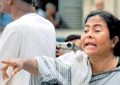 Mamata Banerjee. 