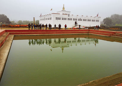 Lumbini, the UNESCO World Heritage Site
