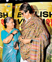 Amitabh and Jaya Bachcan