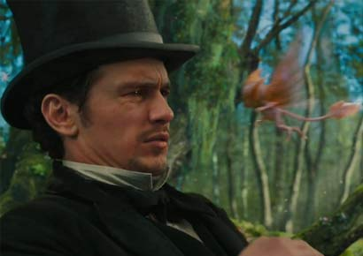 A still from <i>Oz the Great and Powerful</i>
