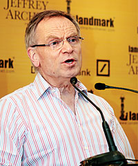 British author Jeffery Archer