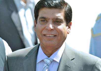 Raja Pervez Ashraf.