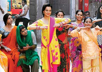 Kangana Ranaut in the a still from Rajjo.