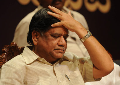 Chief Minister Jagadish Shettar 