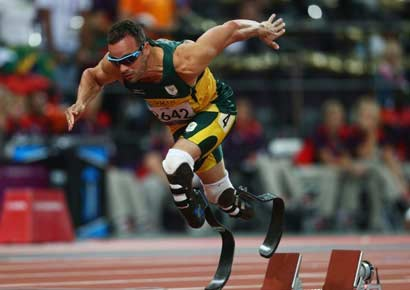 A file photo of Oscar Pistorius.