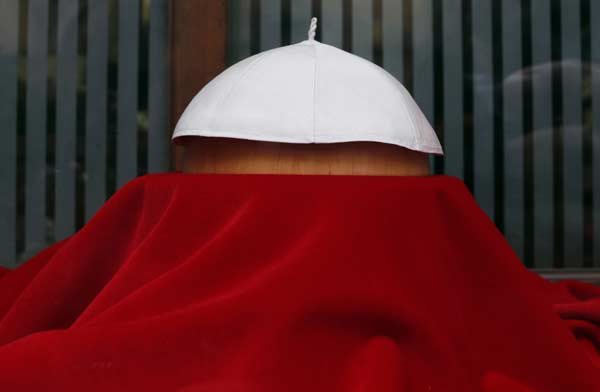 The papal cap