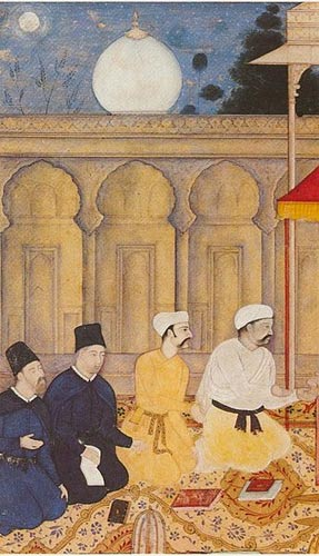 Jesuits at Akbar's court in India, in 605