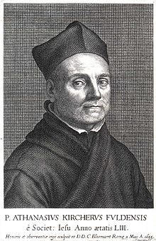 Athanasius Kircher (1601-1680), German Jesuit who made note of