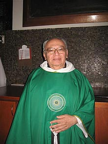 Peruvian Dominican priest Gustavo Gutirrez, the man who coined the term 'Liberation Theology'