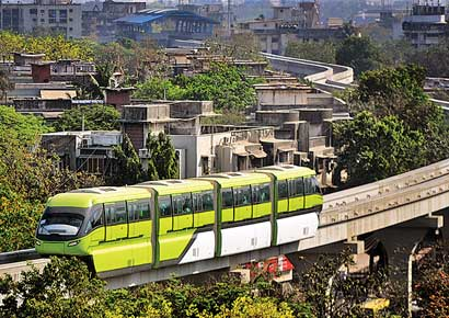 The 8.8-km-long stretch between Wadala and Chembur.