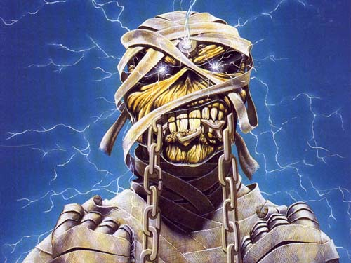 Iron Maiden mascot Eddie