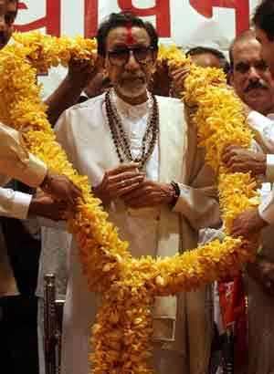 Balasaheb Thackeray.