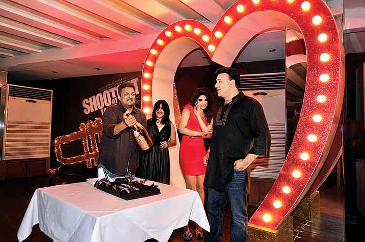 Sanjay Gupta, Ekta Kapoor, Priyanka Chopra and Anu Malik