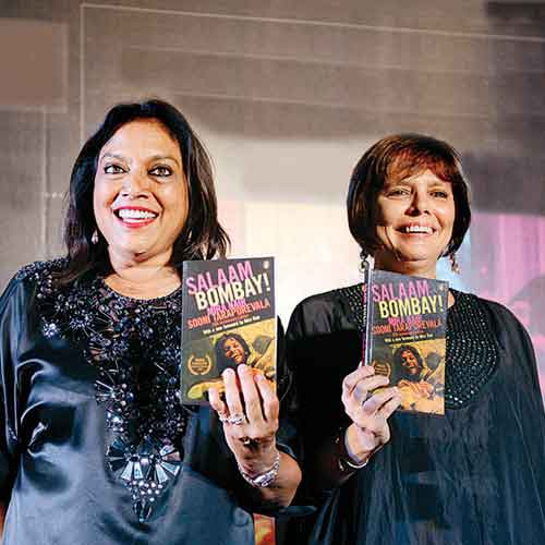 Mira Nair and Sooni Taraporevala at the Salaam Bombay 25th anniversary celebrations last week.