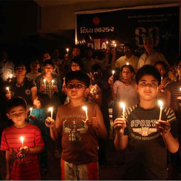 Earth Hour observed last year
