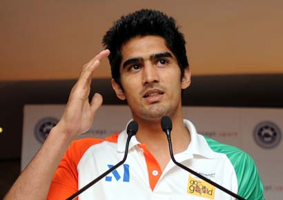 Boxing Federation drops Vijender Singh from tournaments in Cyprus and Cuba