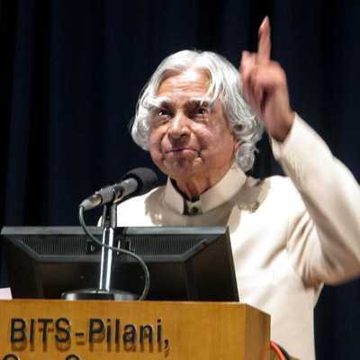 APJ Abdul Kalam.
