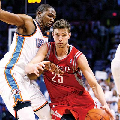 We have as good a chance as anybody: Chandler Parsons
