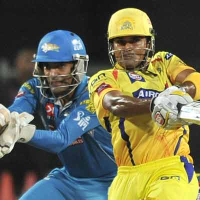 Pix: Drama, cricket and runs as CSK and PWI face-off