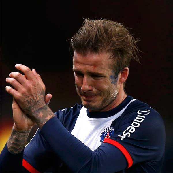From the ashes of David Beckham-The footballer, the father, husband and brand rise