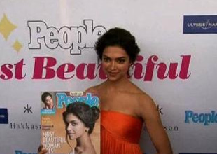 Deepika Padukone unveils special issue of People's Magazine!