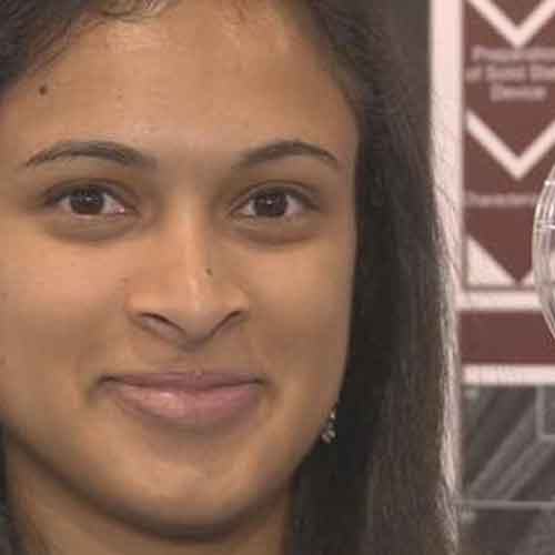 18-year-old Eesha Khare invents a revolutionary device that can charge a phone in 20 seconds