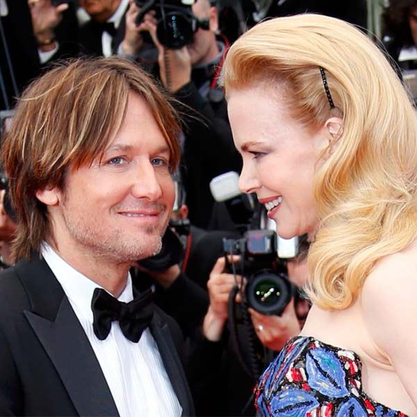 Nicole Kidman and Keith Urban look like young lovers on the red carpet at Cannes