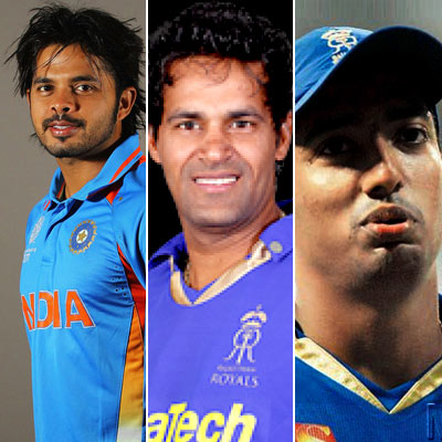 Sreesanth and the complete list of accused in IPL spot-fixing