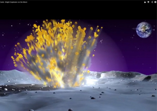 Must watch: Largest explosion on the moon as meteorite crashes on lunar surface