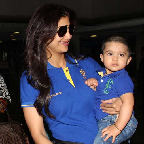 Shilpa Shetty and Raj Kundra's son Viaan gets a Lamborghini as first birthday gift
