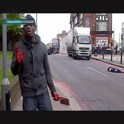 Soldier hacked to death in London street in suspected Islamist attack, Nigerian link possible