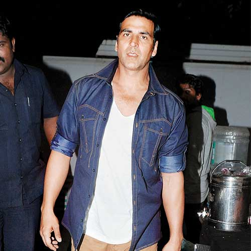 Akshay Kumar sings Haryanvi song