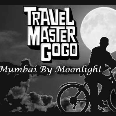 Churchgate to Bandra on a bicycle tour in the moonlight