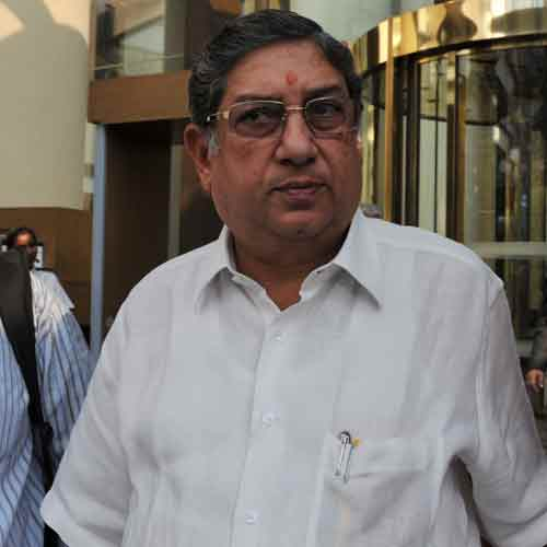Television reports quoted Srinivasan as saying that Meiyappan's arrest was an attempt to target him through his son-in-law, and therefore, there was no question of him resigning.