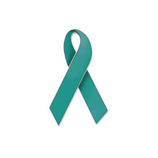 The Ovarian cancer ribbon