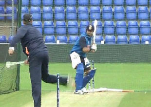 Champions Trophy: Indian team practices ahead of semi-final against Sri Lanka