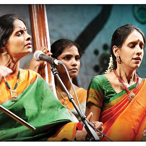 Carnatic vocalist siblings Ranjani and Gayathri will be the star attractions at the concert.