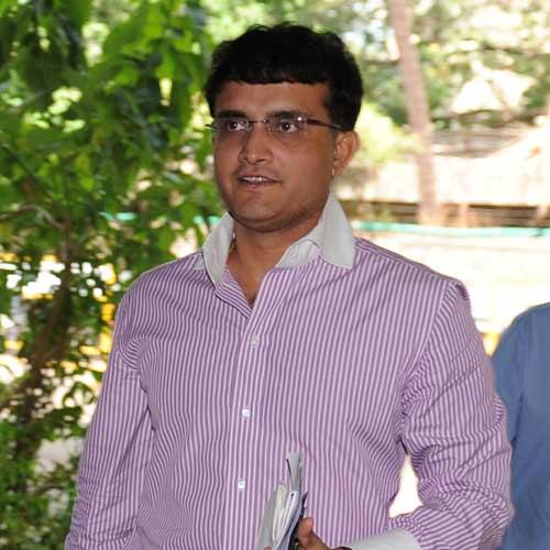 Sourav Ganguly.