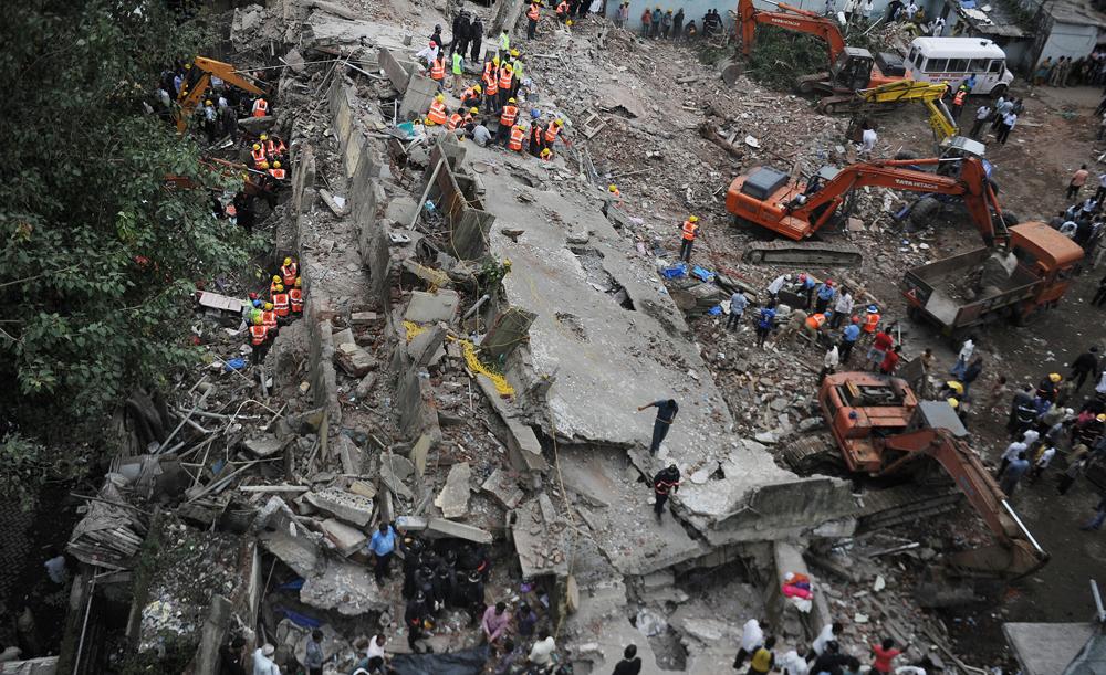 Dockyard Road Mumbai Building Collapse