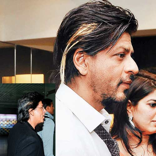 Alfa img - Showing > Srk Latest Hairstyle